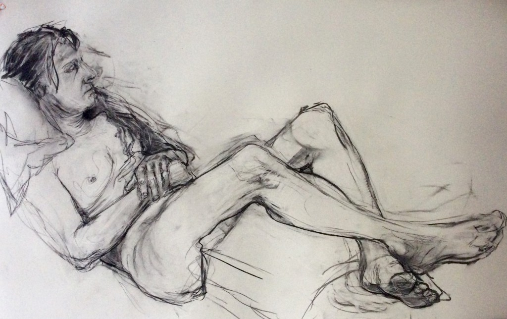 Life Drawing (Julie)